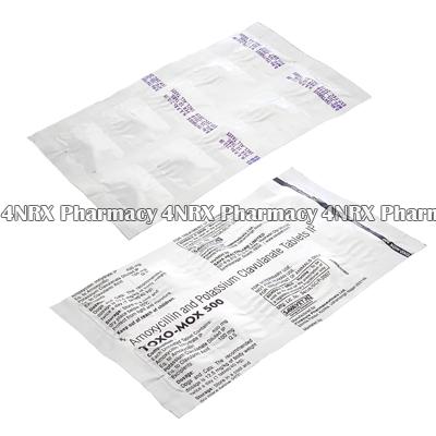Toxomox Amoxycillin Potassium Clavulanate