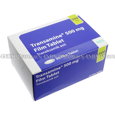 Transamine (Tranexamic Acid) - 500mg (50 Tablets)1