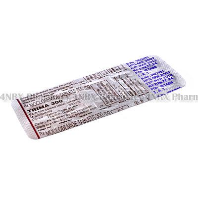 Trima (Moclobemide) - 300mg (10 Tablets)