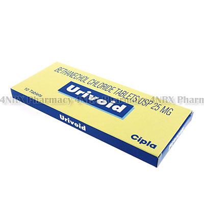 Urivoid (Bethanechol Chloride) - 25mg (10 Tablets)