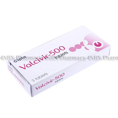 Valcivir(Valacyclovir)-500mg(3Tablets)
