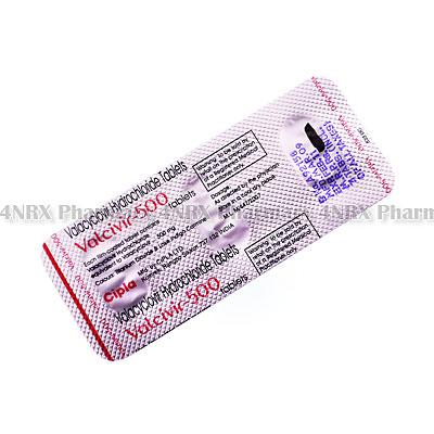 Valcivir (Valacyclovir) - 500mg (3 Tablets)