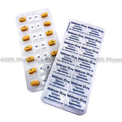 Valdoxan (Agomelatine) - 25mg (28 Tablets)