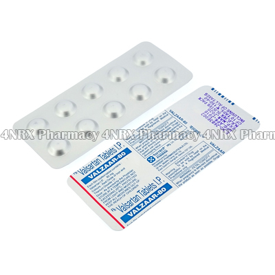 Valzaar (Valsartan) - 80mg (10 Tablets)2