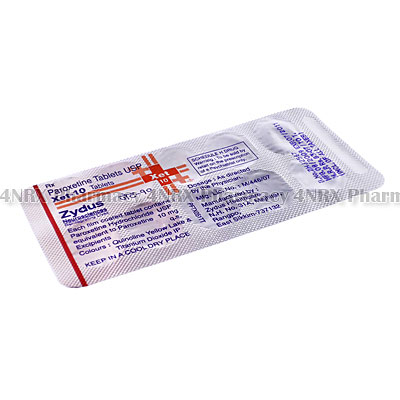 Xet (Paroxetine) - 10mg (10 Tablets)