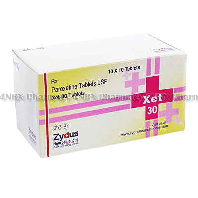 Xet(Paroxetine)-30mg(10Tablets)
