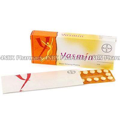 Yasmin (Drospirenone/Ethinylestradiol) - (21 Tablets)