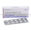 Detail Image Armotraz (Anastrozole) - 1mg (10 Tablets)