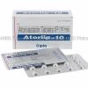 Detail Image Atorlip (Atorvastatin Calcium) - 10mg (15 Tablets)