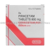 Detail Image Cerecetam-800 (Piracetam) - 800mg (10 Tablets)