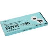 Detail Image Clavet-250 (Amoxicillin/Clavulanate Potassium) - 200mg/50mg (10 Tablets)