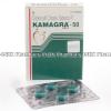 Detail Image Kamagra 50 (Sildenafil Citrate) - 50mg (4 Tablets)