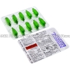 Detail Image Karvol Plus Inhalant (Camphor/Chlorothymol/Eucalyptol/Terpinol/Menthol) - 25mg/5mg/125mg/120mg/55mg (10 Capsules)