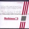 Detail Image Methimez (Methimazole) - 5mg (3 x 30 Tablets)
