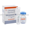 Detail Image Oframax Injection (Ceftriaxone) - 250mg (1 vial)