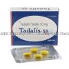 Detail Image Tadalis SX (Tadalafil) - 20mg (4 Tablets)